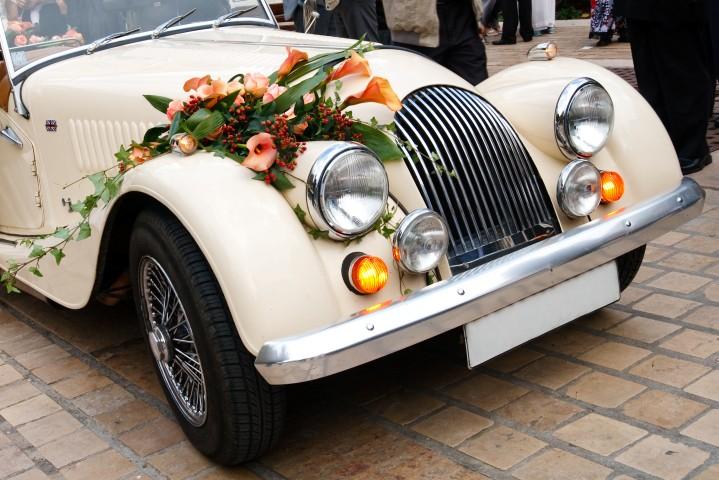 Oldtimertour zur Silberhochzeit - Highlight für Brautpaar und Gäste